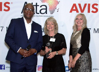 Sue at the Avis ATTA Awards